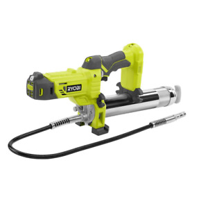 RYOBI Grease Gun 18V Lithium-Ion Lock-Off Trigger Continuous Flow (Tool-Only)