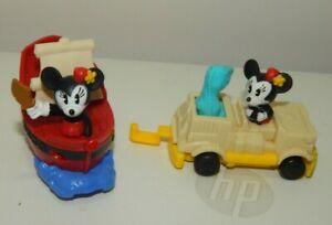 Disney's Minnie Mouse Pirates of the Caribbean & Dinosaur McDonald's toy Lot
