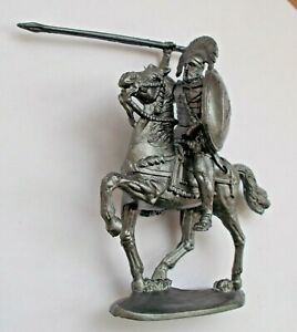 1/30 Mounted Ancient Greek Warrior with Spear Plastic Model KIT Toy Soldier