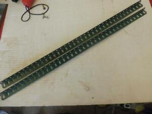 MECCANO 2 Green 18.5 inch  Angle Girders No 7a