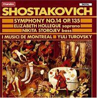 Dmitri Shostakovich - Shostakovich: Symphony No. 14, Op. 135 [CD]