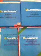 LEUCHTTURM POSTZEGEL SUPPLEMENT (LUXE MET KLEMSTROKEN) NEDERLAND 2000