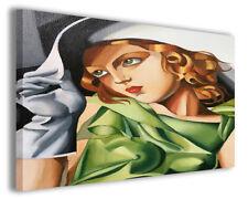 Quadri moderni famosi Tamara de Lempicka vol V stampa su tela canvas arredo