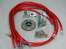 UNIVERSAL GROUND WIRE EARTH GROUNDING SYSTEM KIT fit MAZDA (RED)