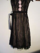 up cycled ladies party dress.12..was Rocha .J Rocha.wired bodice lace.