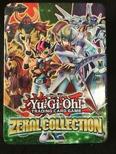 Konami Yu-Gi-Oh Zexal Collection Tin Trading Card Game New Open Box 7 Super Rare