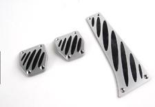 BMW Genuine Fits Most E Models Aluminium Foot Pedal Pads Covers Set 35002213214