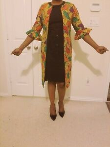 Beautiful Stoned African Print Kimono,Ankara Print Jacket,Women Fashion
