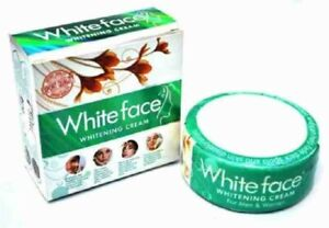 Three Pack (3X) White Face Beauty Cream For Acne Wrinkles Dark Circles