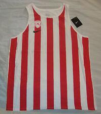 Nike Olympiacos Piraeus Men's Basketball Tee tank jersey (847500), Size XL, BNWT