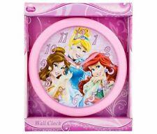 Princess Disney Princess Pink Analog Wall Clock Novelty Character Home Decor