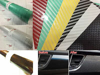 【AirFree】2D Gloss Carbon Fibre Vinyl 0.3m(11.8in)x1.52m(59.8in)Wrap Film Sticker