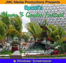 Epcot Flower & Garden Screensaver Photo CD Disney World