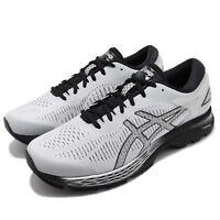 Asics Gel-Kayano 25 2E Wide Grey Black Men Running Shoes Sneakers 1011A029-021