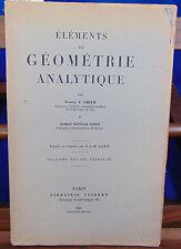 Smith Elements de géometrie analytique, 2eme édition...