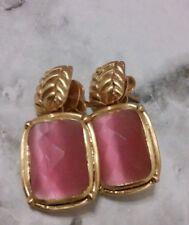 Designer Julie Vos  Monterey Pink Quartz Earrings $175