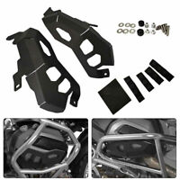 Black Engine Cylinder Head Guard Protector Cover For BMW R1200GS ADV 14-17 SU