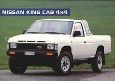 72525101 Autos Nissan King Cab 4x4 Autos