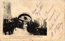 CPA  Dom Clovis et le Commandant de Gendarmerie sortant le premier  (636004)