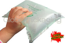 500 x LARGE Biodegradable Green Air Pillows Cushions Void Loose Fill 200x200mm