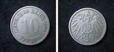 J 13  10 Pfennig  1910 G in  SS-VZ  424 070