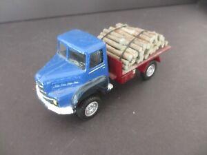 1/43 SOLIDO MERCEDES UNIMOG transport bois