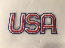 "VINTAGE 1960s ""USA"" United States Olympics 4"" Logo Patch"