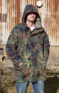 German Flecktarn Army  Gore-tex  Waterproof Jacket Parka