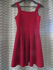 Abercrombie and Fitch Kids girls RED dress size 15/16 xlarge