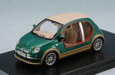 Fiat 500 Castagna EV 'Khamis Gheddafi' 2009 Green / Wood 1:43 Model PREMIUMX