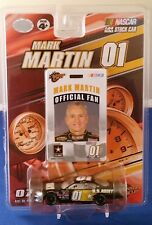 2007 Winners Circle #01 Mark Martin with Fan Badge Pass 1:64 U.S. Army Chevy SS