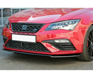 Diffusor Frontlippe für Seat Leon Mk3 Cupra FR Facelift ABS Frontspoiler Lippe