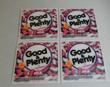 3D Good & Plenty Display Cards for bulk vending candy machines (4 cards $3.50)