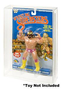 "WWF LJN Wrestling Superstars ""A"" Acrylic Display Case"