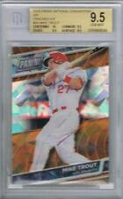 2016 NATIONAL VIP CRACKED ICE REFRACTOR MIKE TROUT /25........BGS 9.5 GEM MINT