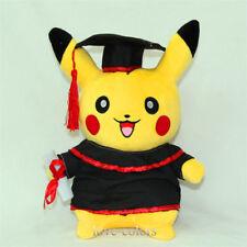 "New Doctor Graduation Pokedoll  Pikachu Happy Plush Toy Soft Doll 11"""