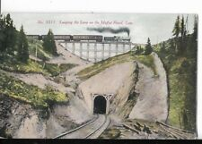 LOOPING THE LOOP ON THE ,MOFFAT ROAD COLORADO POSTCARD