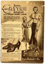 Original Easter Spring 1934 Sears Roebuck & Company Department Store Catalog