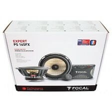 Made In France Focal PS165FX Expert Component Speakers 6.5 Brand New EMS Shiping