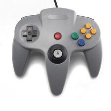 Klassisch N64 Spiele Controller für Original Nintendo 64 Gamepad Control Grau