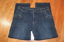 "Dark wash jeans Women's size 10 Simply Vera Wang straight 24.5"" inseam Petite"