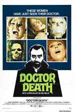 Doctor Death Poster 01 A2 Box Canvas Print