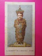 182 - Image - Prière au Santo Bambino de l'Aracoeli - Fin 19ème