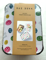 """Rae Dunn Treat Bins With Lids 24 Foil Containers """"Easter Egg Design"""" Brand New!"""