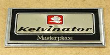 Kelvinator Masterpiece Refrigerator Vintage Sign 12.5x6.8cm