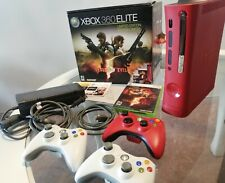 Xbox 360 Elite Resident Evil 5 Limited Edition 120GB Red Console Bundle