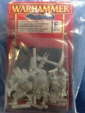 ▲ WARHAMMER WH 89-50 SAVAGE ORC COMMAND GRUPPO COM. ORCHI SELVAGGI OOP BLISTER