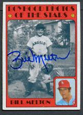 Bil Melton #495 signed autograph auto 1972 Topps Baseball Trading Card
