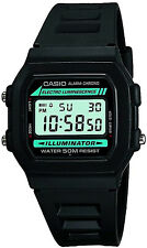NEW Casio Collection W-86-1VQES Mens Digital LCD Watch Stopwatch Alarm Light etc