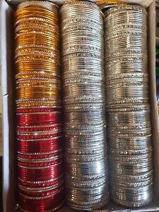 Indian Pakistani Kids Bangles 3 Colours 12 Chudiya Chura For  from 0 to 2yrs